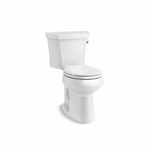 Kohler® 5481-RA-0 Highline® Comfort Height® 2-Piece Toilet, Round Front Bowl, 16-1/2 in H Rim, 1.28 gpf, White