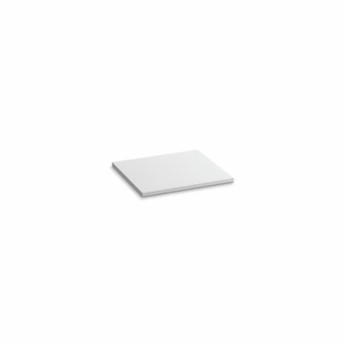 Kohler® 5436-S33 Solid/Expressions™ Vanity Top Without Cutout, 22-3/8 in OAWx22-13/16 in OADx1 in OAH, Stone White Top