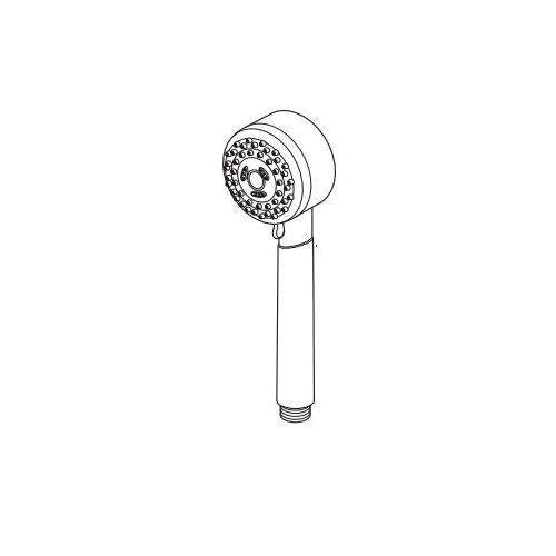 Brizo® RP61593GL Quiessence® Hand Shower, 2 gpm, Luxe Gold, Slide Bar: No, Import