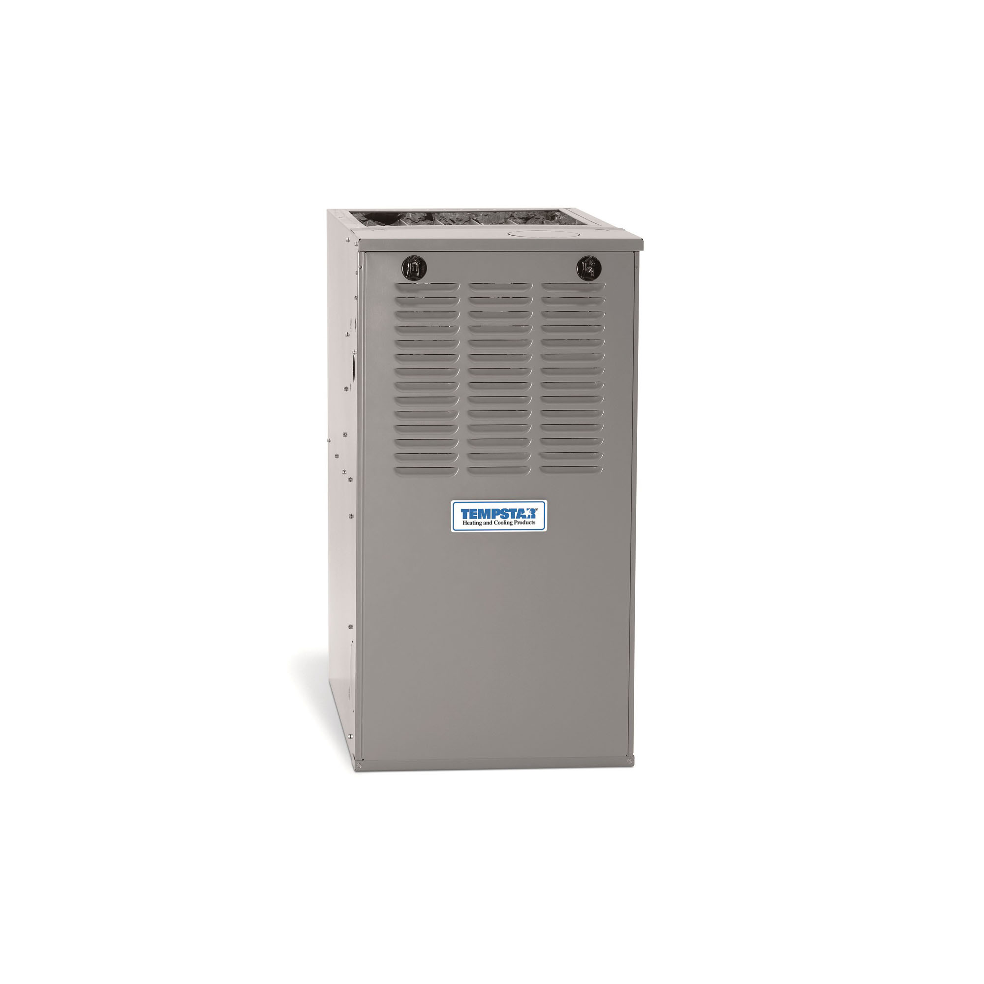 ICP® N8MSN1352116A Performance® 1-Stage Standard Multi-Position Gas Furnace, 132000 BTU/hr Input, 107000 BTU/hr Output, 115 VAC, 80 % AFUE, 1380 to 1710 cfm Cooling, 1480 cfm Heating, Domestic