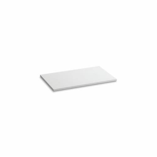 Kohler® 5438-S33 Solid/Expressions™ Vanity Top Without Cutout, 22-3/8 in OAWx22-13/16 in OADx1 in OAH, Stone White Top