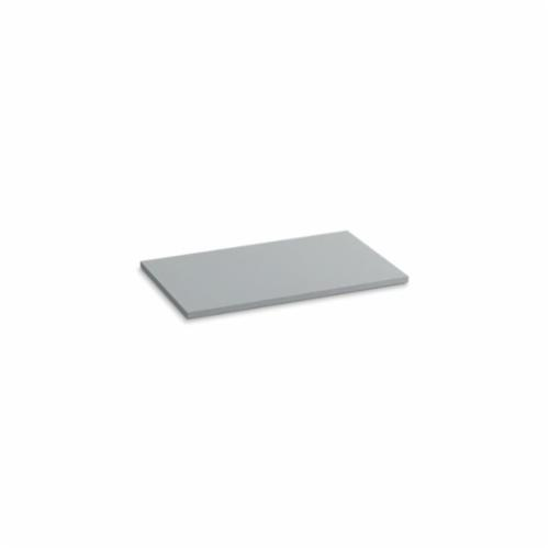 Kohler® 5438-S36 Solid/Expressions™ Vanity Top Without Cutout, 22-3/8 in OAWx22-13/16 in OADx1 in OAH, Stone Ice Gray Top