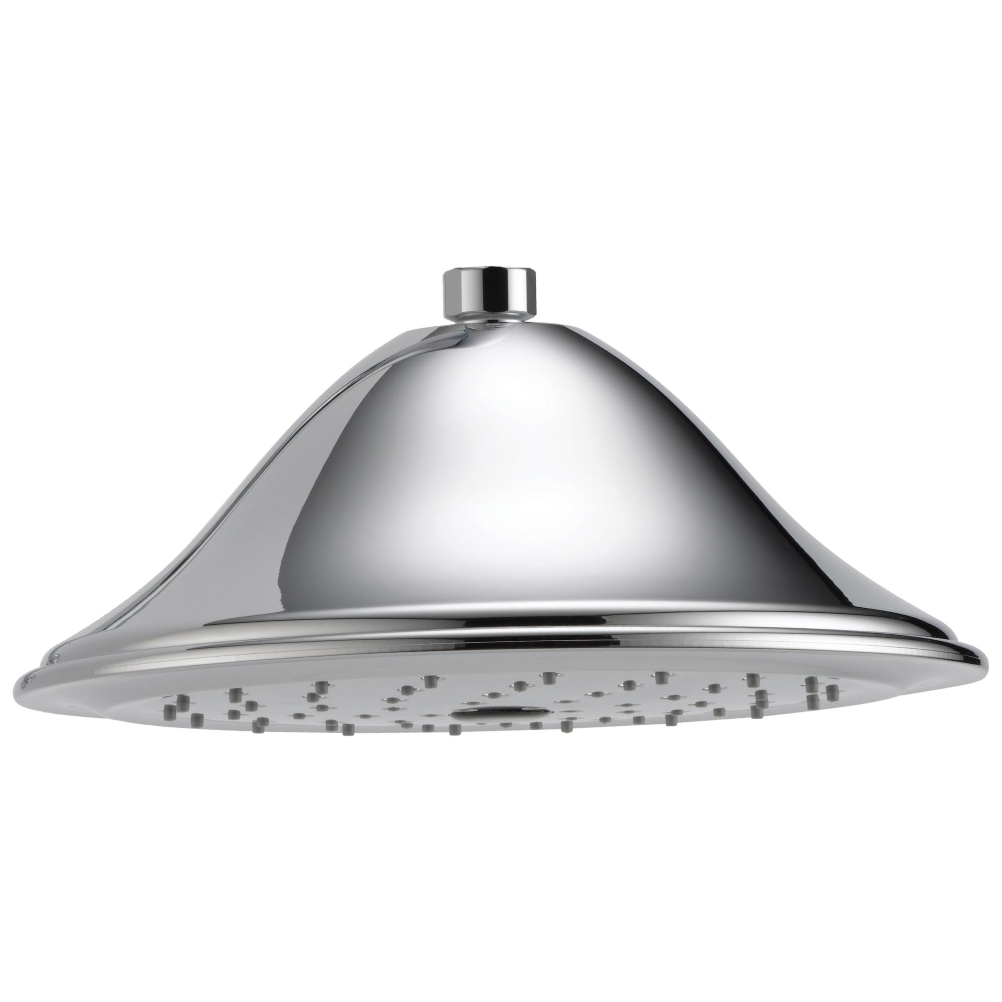 Brizo® RP52090PC-2.5 Raincan Shower Head, Brizo® Traditional, 2.5 gpm, 1 Sprays, 9-3/8 in Dia Head, Import