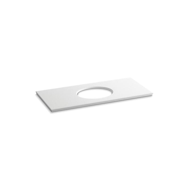 Kohler® 5424-S33 Solid/Expressions™ Bathroom Sink, 49-5/8 in OAWx22-13/16 in OADx1-1/4 in OAH, White