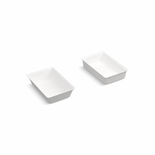 Kohler® 5544-0 Prolific™ Colander and Washbin, 10 in Lx15-7/8 in W, White