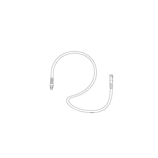 Brizo® RP40532 Hose Assembly, 59 in L, Import
