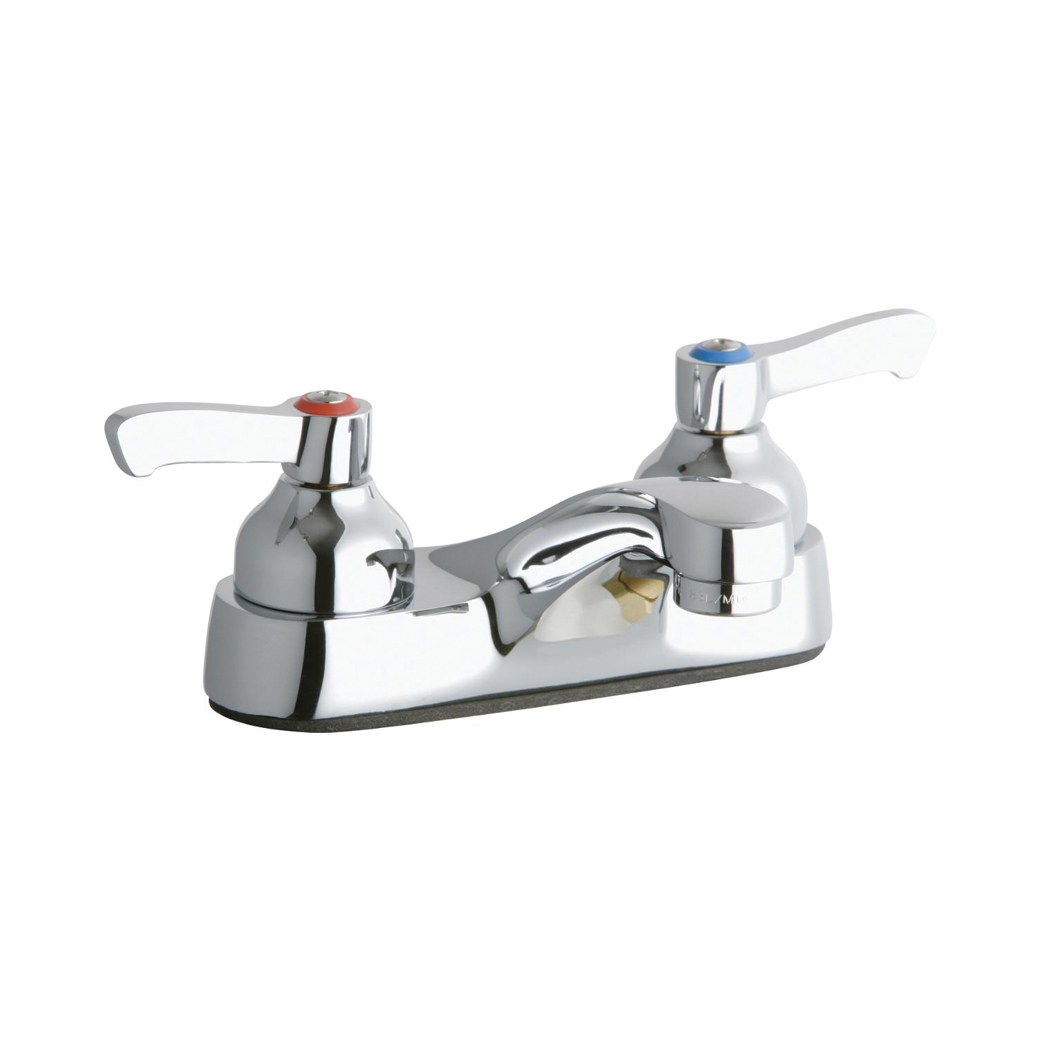 Elkay® LK402L2 Exposed Centerset Bathroom Faucet, Chrome Plated, 2 Handles, 0.5 gpm