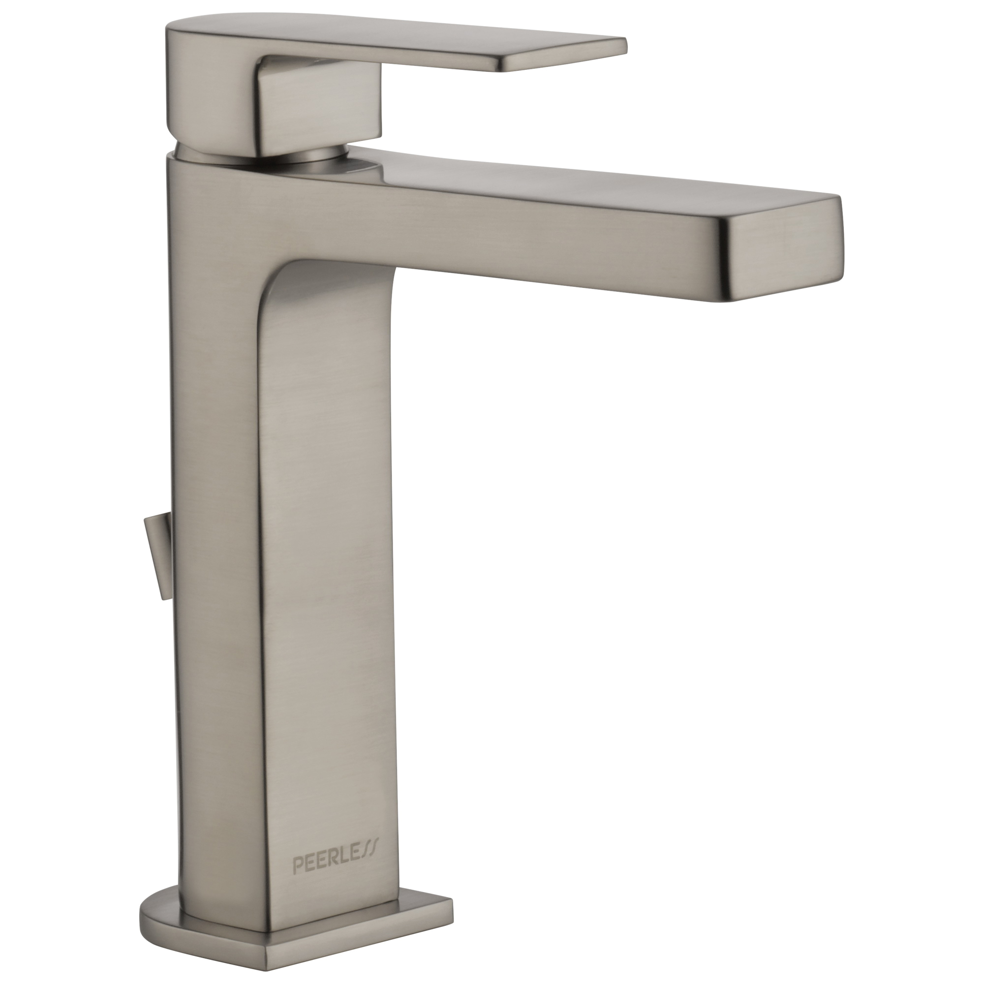 Peerless® P1519LF-BN-HA Bathroom Faucet, Xander™, Brushed Nickel, 1 Handles, 50/50 Pop-Up Drain, 1 gpm