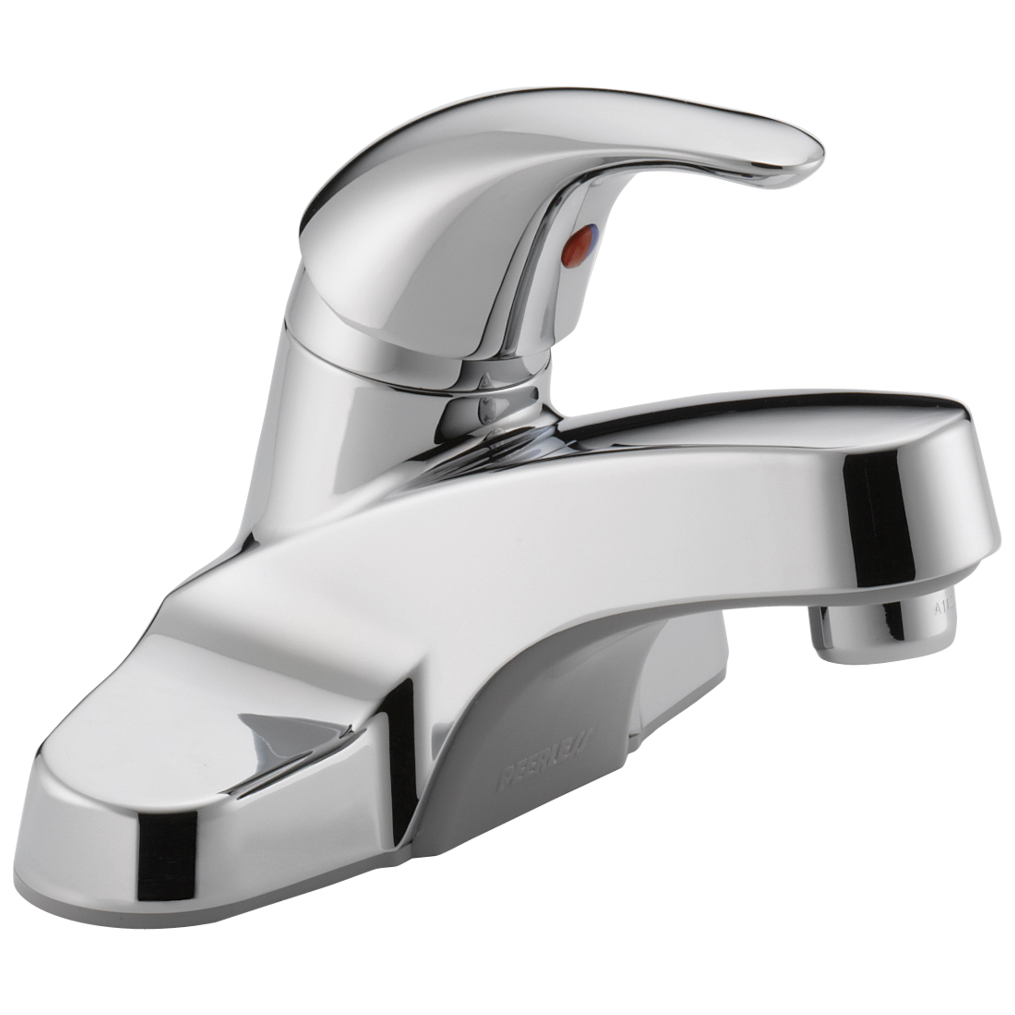 Peerless® P131LF Centerset Lavatory Faucet, Chrome Plated, 1 Handles, 1.2 gpm