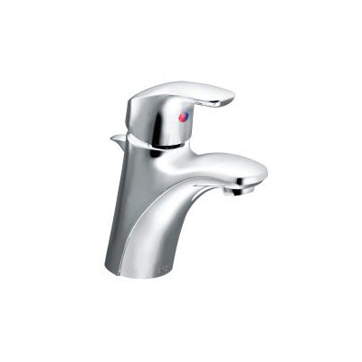 CFG CA42712 Lavatory Faucet, Baystone™, Chrome Plated, 1 Handles, Pop-Up Drain, 1.2 gpm