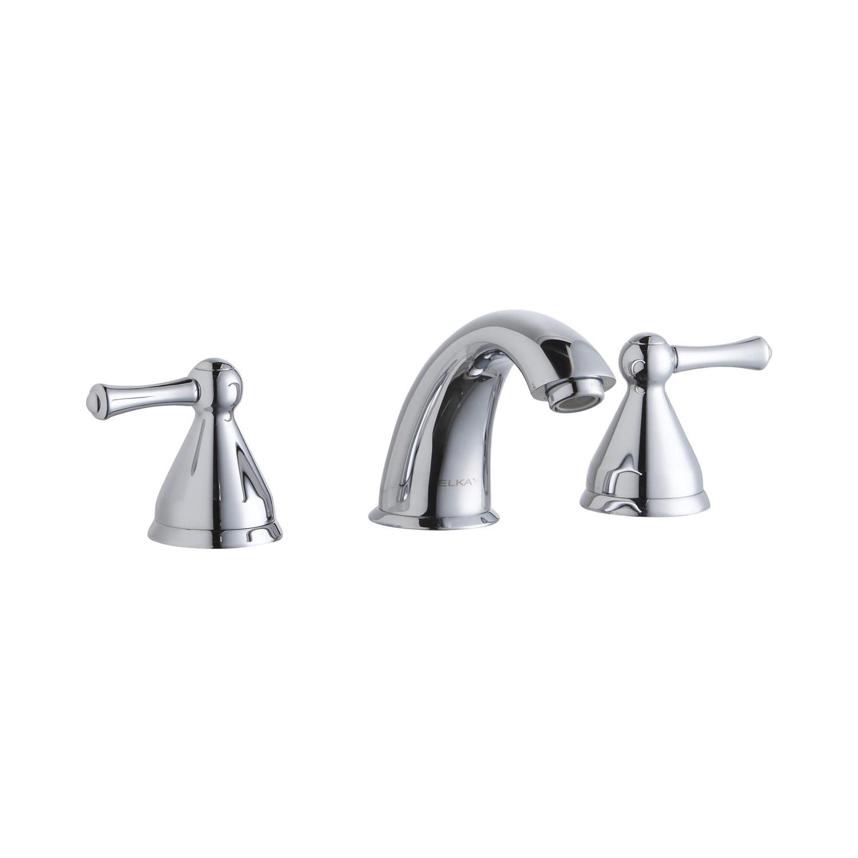 Elkay® LK804F Scrub/Handwash Faucet, Chrome Plated, 2 Handles, 0.5 gpm