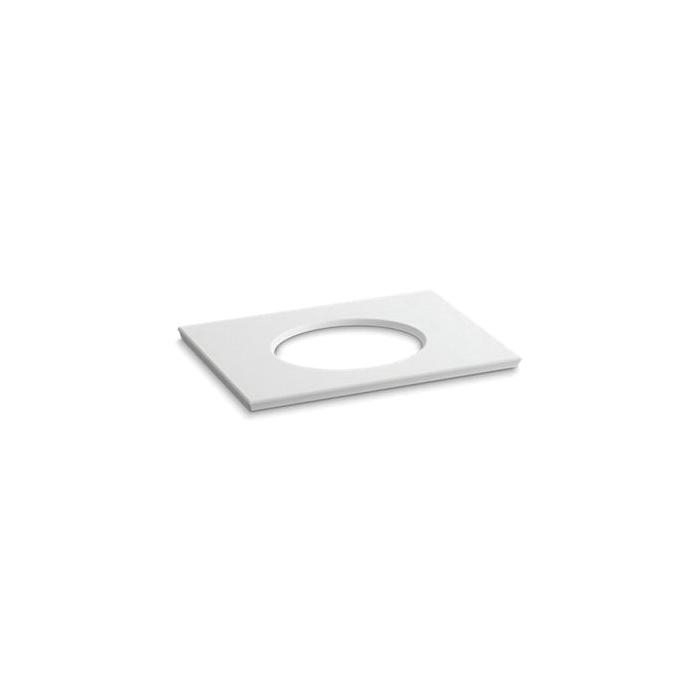 Kohler® 5422-S33 Solid/Expressions™ Bathroom Sink, 31-5/8 in OAWx22-13/16 in OADx1-1/4 in OAH, White
