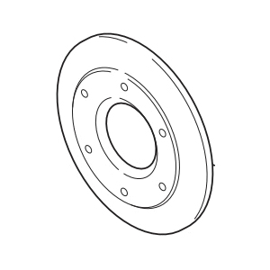 Brizo® RP44003GL Quiessence® Escutcheon, For Use With Odin™ Model T60875 3-Function Diverter Trim, 1/2 in Lx4-1/2 in H, Luxe Gold, Import