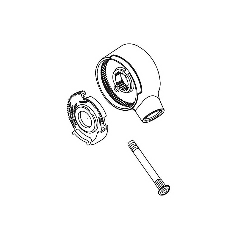Brizo® RP32103BB Single Lever Handle Kit, For Use With Delta® 17 Series Tub/Showers, Metal, Brilliance® Brass, Import