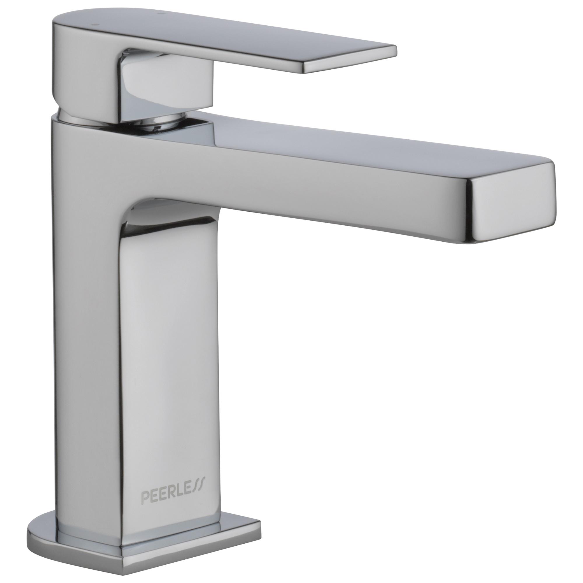 Peerless® P1519LF-LPU Bathroom Faucet, Xander™, Chrome Plated, 1 Handles, 1 gpm