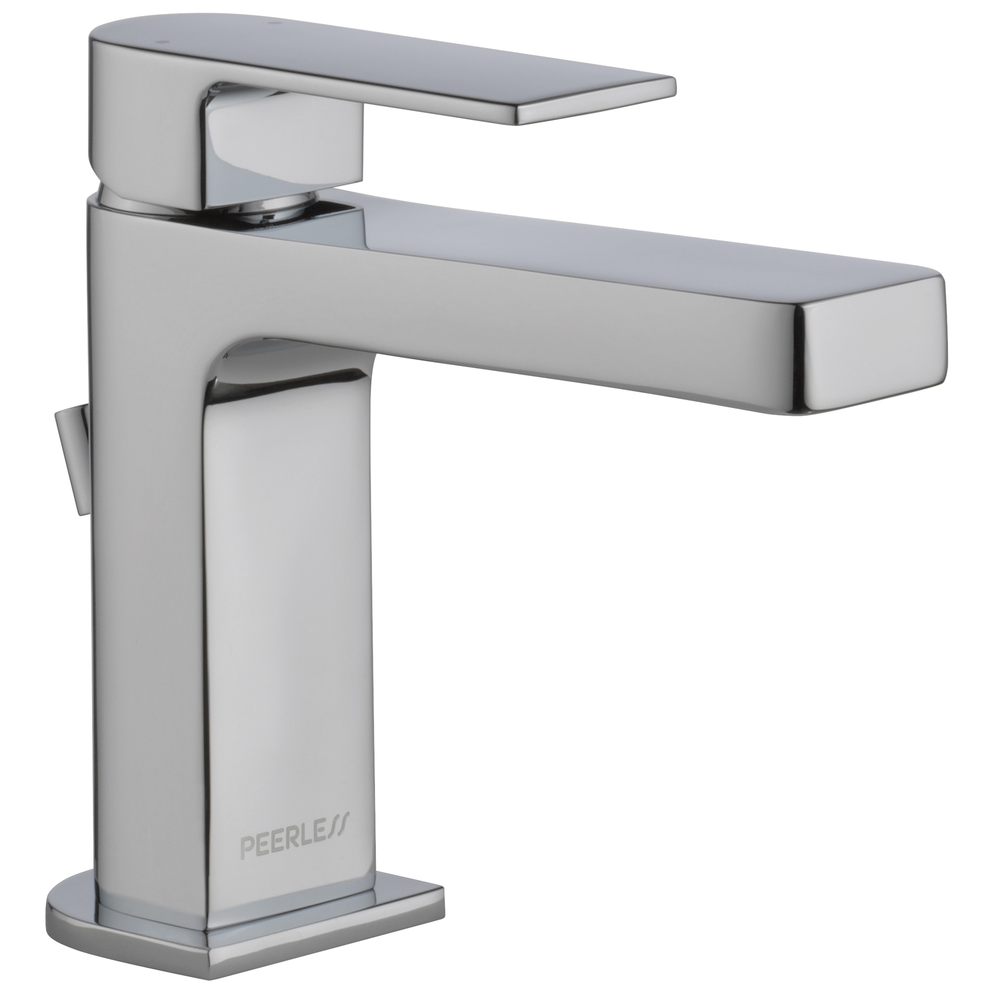 Peerless® P1519LF Bathroom Faucet, Xander™, Chrome Plated, 1 Handles, 50/50 Pop-Up Drain, 1 gpm