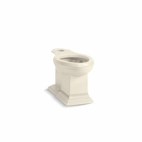 Kohler® 5626-47 Toilet Bowl, Almond, Elongated Front, 12 in Rough-In, 5-3/8 in H Rim, 2 in Trapway, Memoirs®