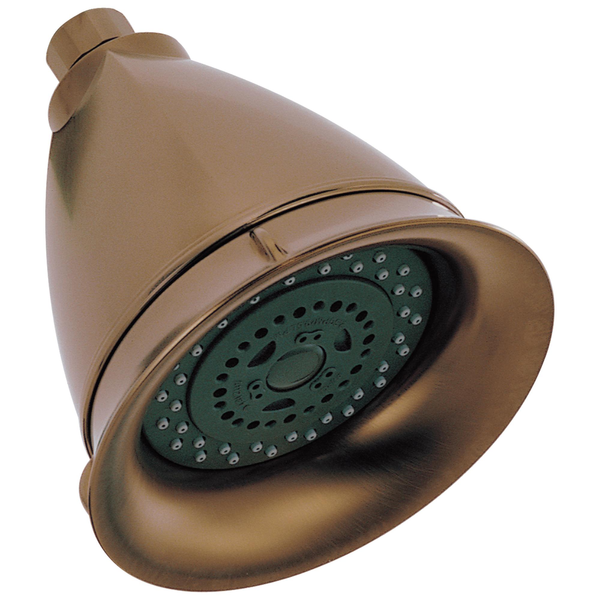 Brizo® RP42431BZ Raincan Shower Head, Vesi®, 2.5 gpm Minimum, 3 Sprays, Wall Mount, Import