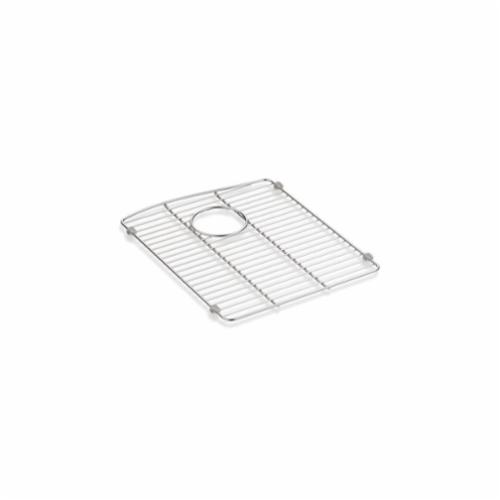Kohler® 5662-ST Kennon® Sink Rack, 13-5/8 in Lx16-1/2 in Wx3/4 in H, Stainless Steel