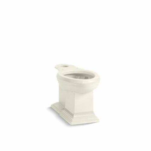 Kohler® 5626-96 Toilet Bowl, Biscuit, Elongated, 12 in Rough-In, 2 in Trapway, Memoirs®