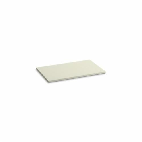Kohler® 5438-S35 Solid/Expressions™ Vanity Top Without Cutout, 22-3/8 in OAWx22-13/16 in OADx1 in OAH, Stone Biscuit Top