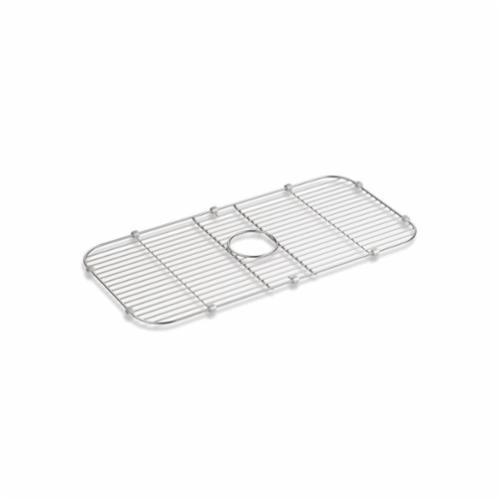 Kohler® 5474-ST Undertone® Sink Rack, 27-7/16 in Lx13-7/16 in Wx5/8 in H, Stainless Steel