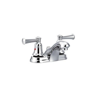 CFG CA41213 Lavatory Faucet, Capstone®, Chrome Plated, 2 Handles, 1.2 gpm