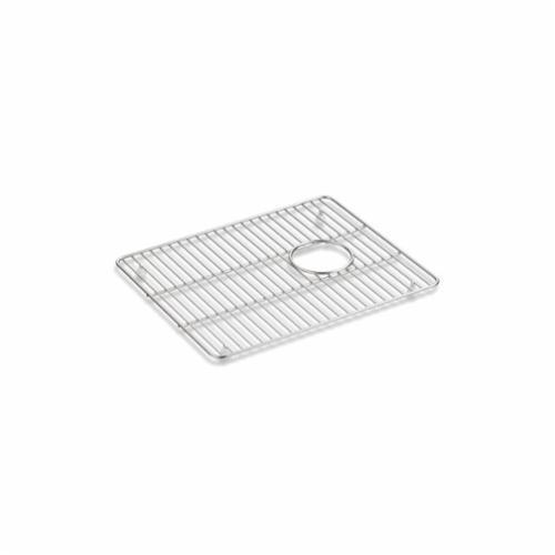 Kohler® 5655-ST Cairn® Sink Rack, 17-1/4 in Lx14 in W, Stainless Steel