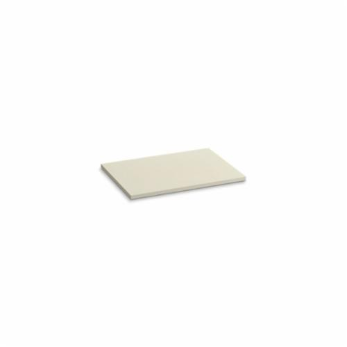 Kohler® 5437-S34 Solid/Expressions™ Vanity Top Without Cutout, 22-3/8 in OAWx22-13/16 in OADx1 in OAH, Stone Almond Top