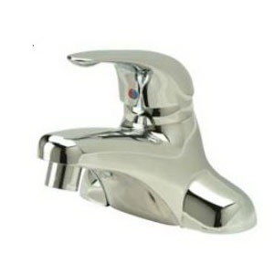 Zurn® AquaSpec® Z7442-XL Centerset Bathroom Faucet, Polished Chrome, 1 Handles, 2.2 gpm