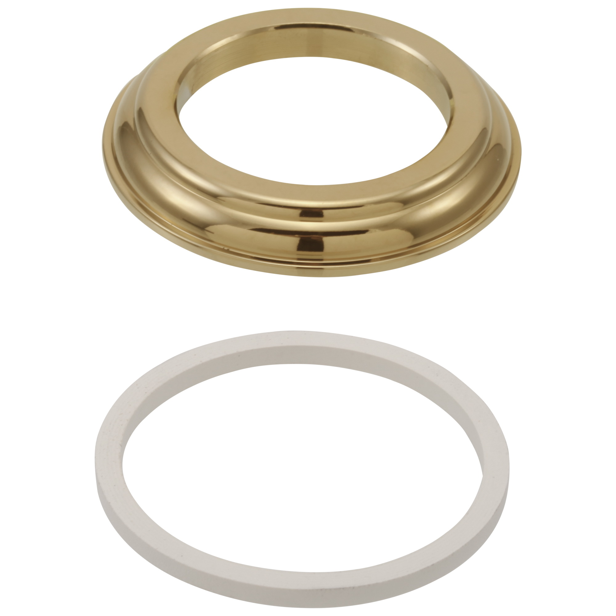 Brizo® RP23611BB Base With Gasket, Brilliance® Brass, Domestic