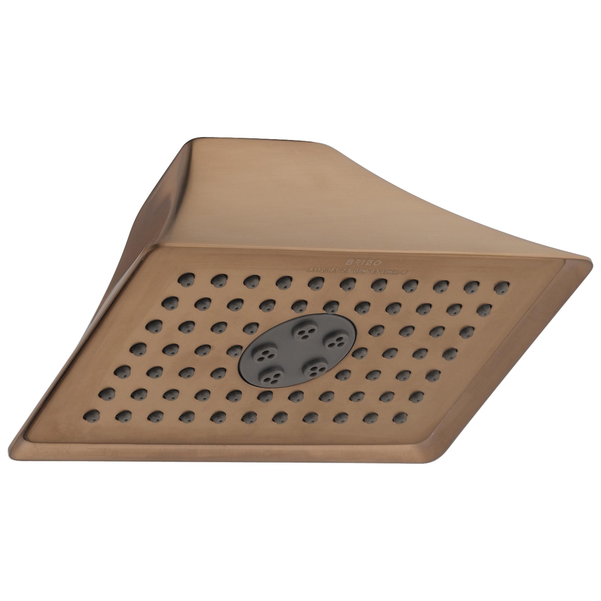 Brizo® RP48041BZ 2-Function Shower Head, RSVP®, 2.5 gpm, 2 Sprays, Wall Mount, Import