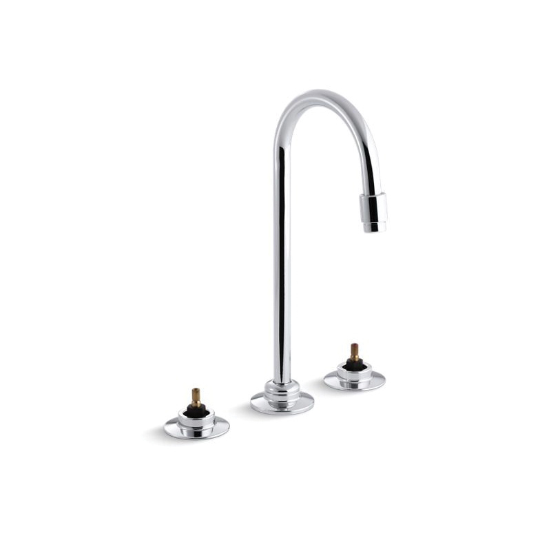 Kohler® 7404-KNE-CP Centerset Bathroom Sink Faucet, Triton™, Polished Chrome, 0.5 gpm