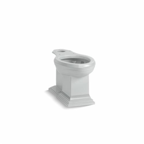 Kohler® 5626-95 Toilet Bowl, Ice Gray™, Elongated Front, 12 in Rough-In, 5-3/8 in H Rim, 2 in Trapway, Memoirs®