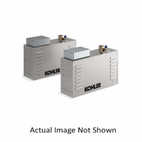Kohler® 5543-NA Invigoration™ Steam Generator, 1/2 in NPT Steam Outlet, 3/8 in NPT Water Inlet, 240 VAC, 60 A