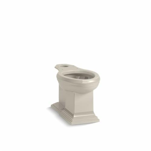 Kohler® 5626-G9 Toilet Bowl, Sandbar, Elongated Front, 12 in Rough-In, 5-3/8 in H Rim, 2 in Trapway, Memoirs®