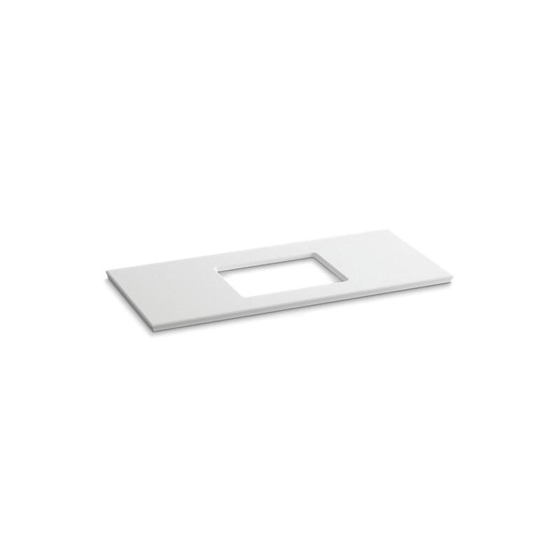 Kohler® 5458-S33 Solid/Expressions™ Bathroom Sink, 49-5/8 in OAWx22-13/16 in OADx1-1/4 in OAH, White