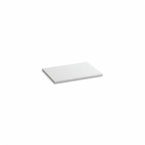 Kohler® 5437-S33 Solid/Expressions™ Vanity Top Without Cutout, 22-3/8 in OAWx22-13/16 in OADx1 in OAH, Stone White Top