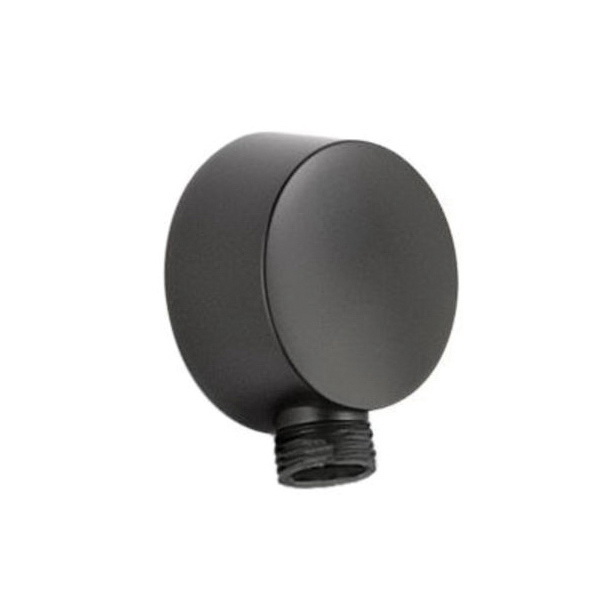 Brizo® RP42313BL Jason Wu Complete Wall Outlet, For Use With Quiessence® Series Model 85521 Multi-Function Slide Bar Hand Shower, Matte Black, Import