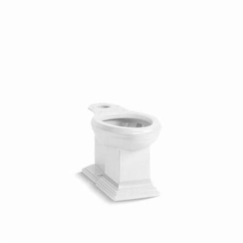 Kohler® 5626-0 Toilet Bowl, White, Elongated, 12 in Rough-In, 2 in Trapway, Memoirs®