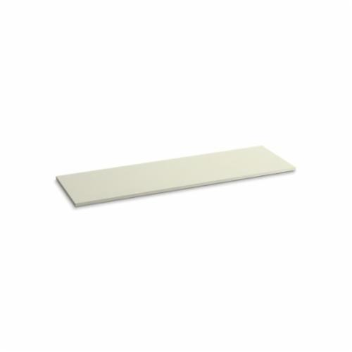 Kohler® 5442-S35 Solid/Expressions™ Vanity Top Without Cutout, 22-3/8 in OAWx22-13/16 in OADx1 in OAH, Stone Biscuit Top