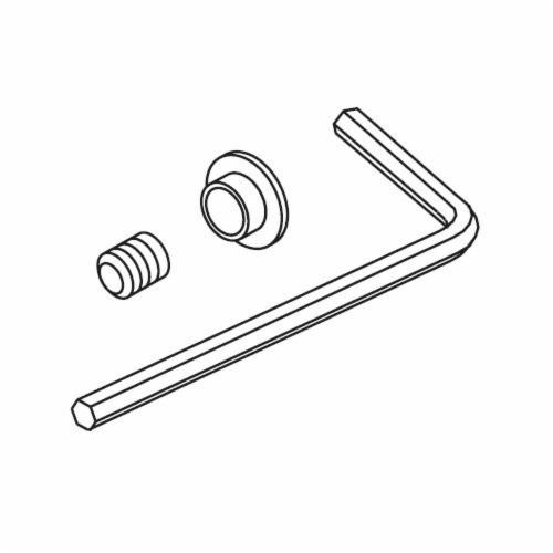 Brizo® RP62446BN Virage® Set Screw and Button, Brushed Nickel, Import
