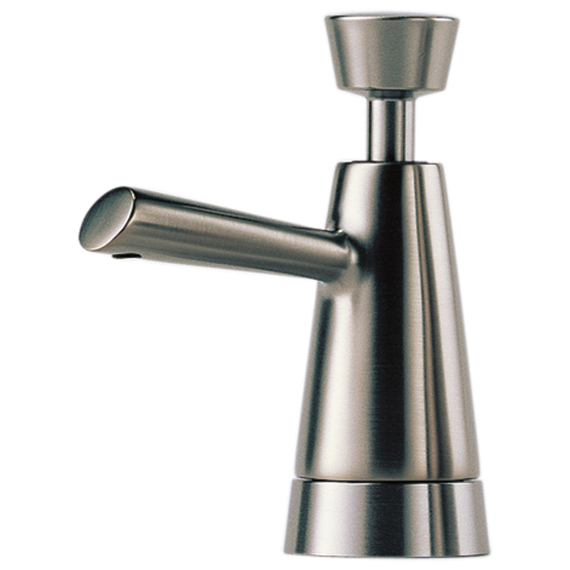 Brizo® RP42878-SS Venuto® Soap/Lotion Dispenser, Stainless Steel, 13 oz, Deck Mount, Brass