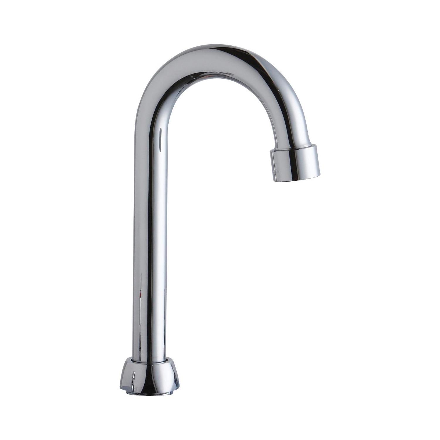 Elkay A55397 Replacement Gooseneck Spout For Use With Model Lk543af08c Lk543af10c Small Nut Concealed Deck Commercial Faucet 3 1 2 In Spout Reach Metal Import Residential First Supply