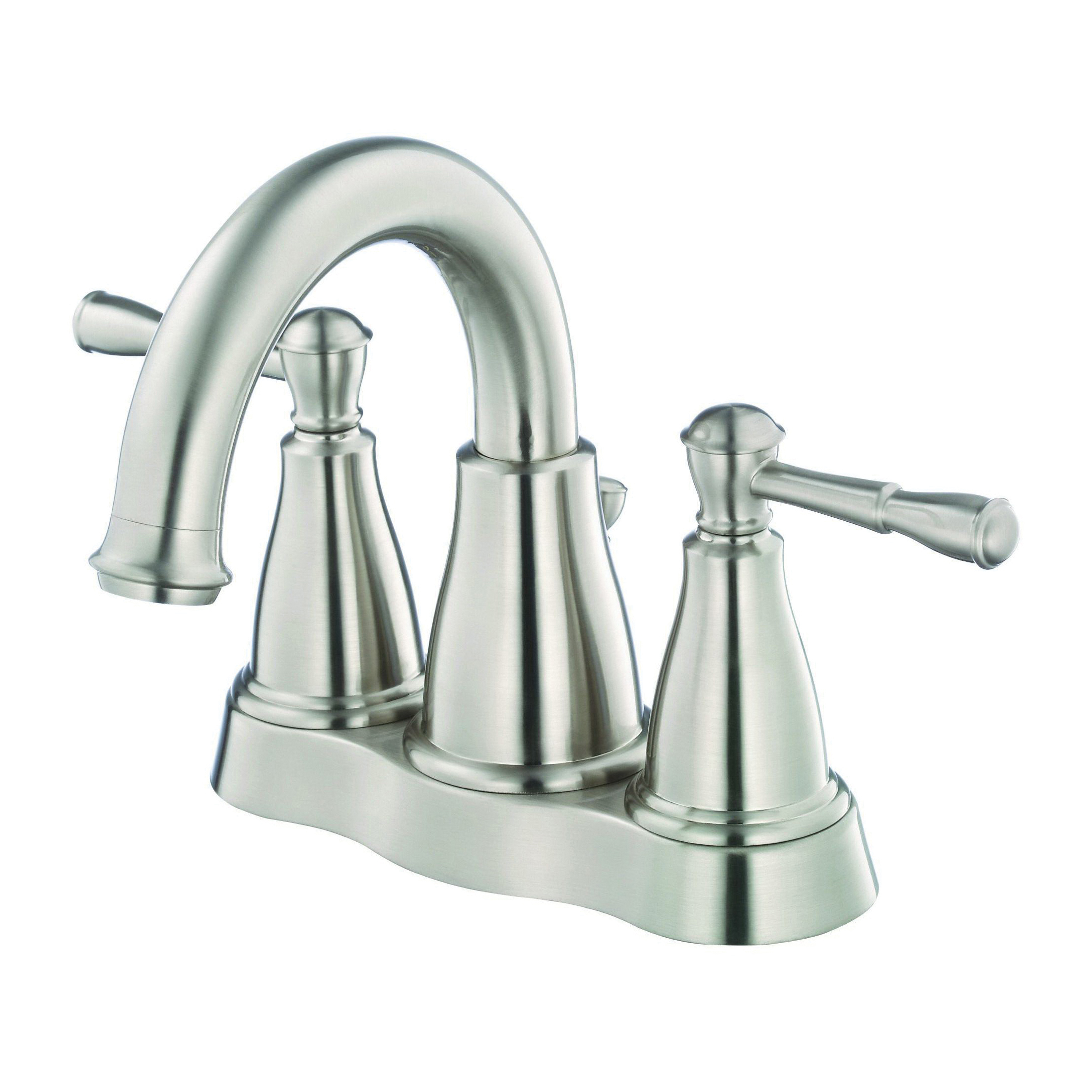 Danze® D301115BN Centerset Lavatory Faucet, Eastham™, Brushed Nickel, 2 Handles, 50/50 Pop-Up Drain, 1.2 gpm