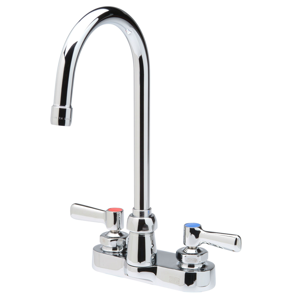 Zurn® AquaSpec® Z812B1-XL Centerset Bathroom Faucet, Polished Chrome, 2.2 gpm