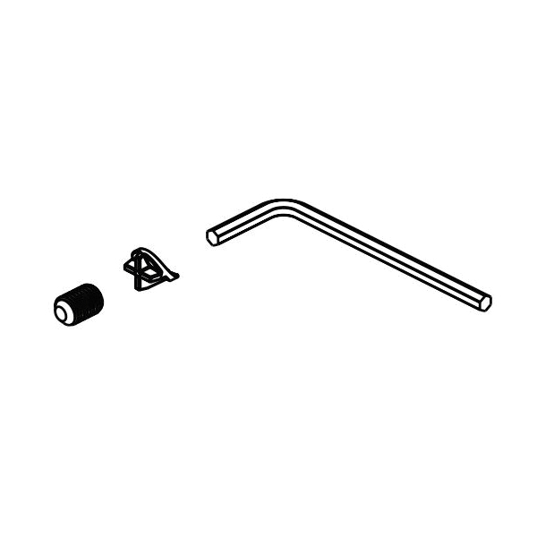 Brizo® RP101137GL Invari™ Allen Wrench/Set Screw and Cover, 0.88 in OAL, Domestic