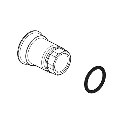 Brizo® RP100660 Siderna® Diverter Nut and O-Ring, For Use With Siderna® T75P580/T75P680 Pressure Balance Valve with Integrated 3-Function Diverter Trim, Domestic