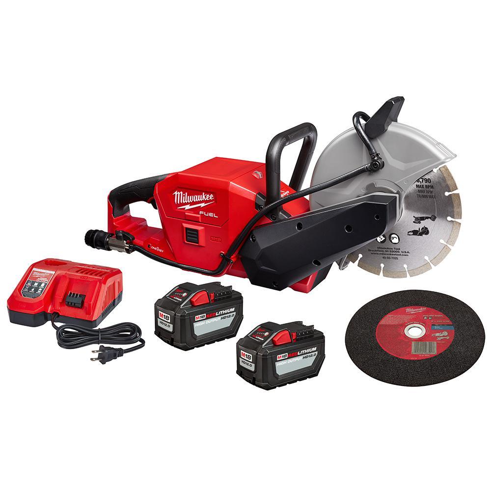 "Milwaukee® 2786-22HD M18 FUEL™ 9"" Cut-Off Saw w/ ONE-KEY™ Kit"