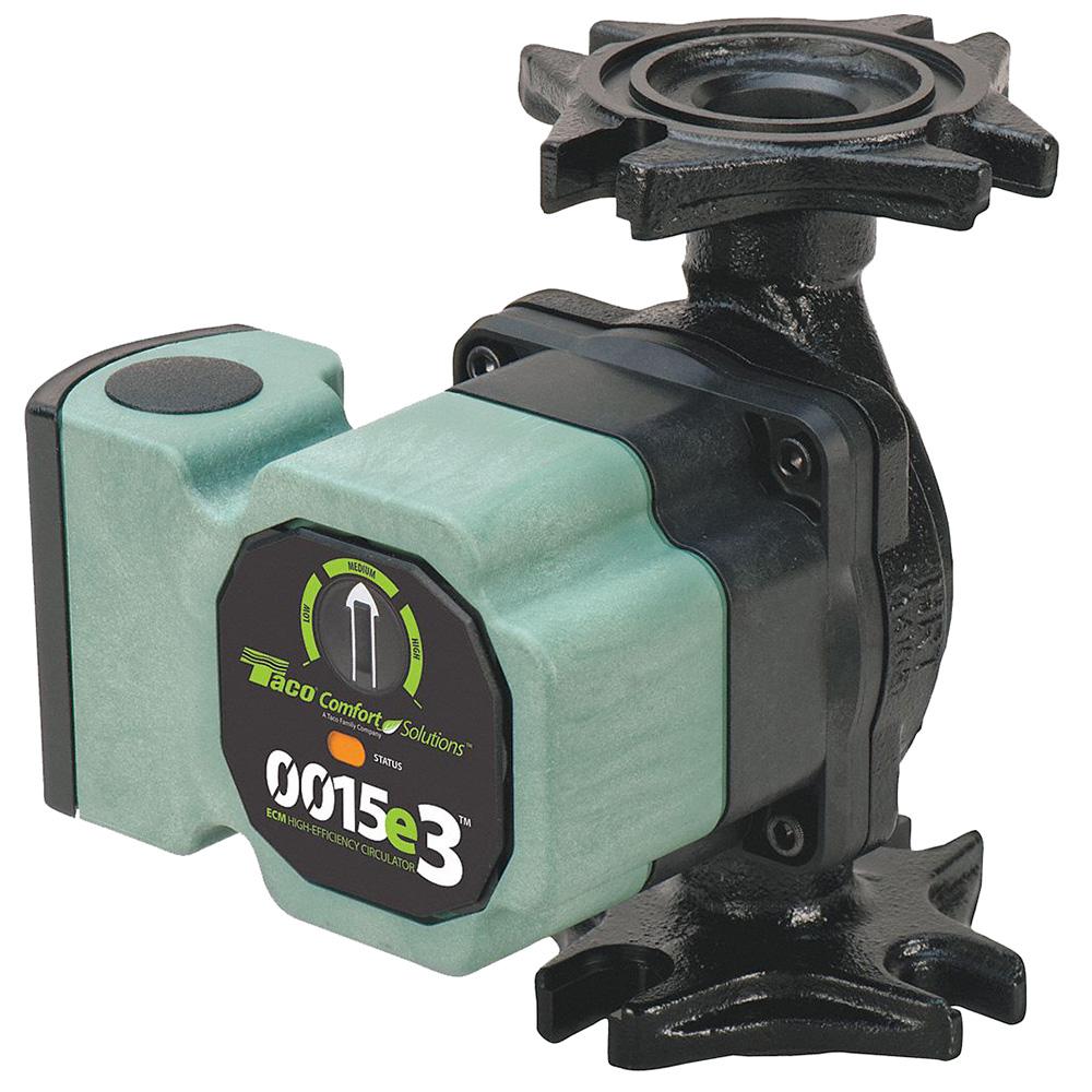 0015e3™ - Variable Speed ECM Circulator Pump, 3 Speed, Cast Iron, Standard Flange